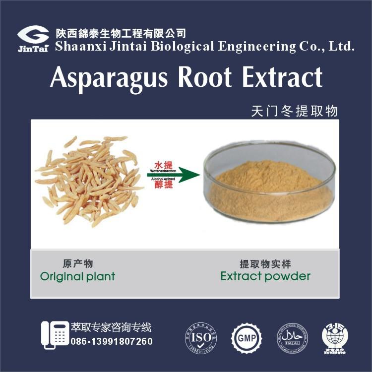 factory Supply Chinese Herb Cochinchnese Asparagus Root P.E.