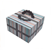 new style custom portable cardboard printing packaging box for cake
