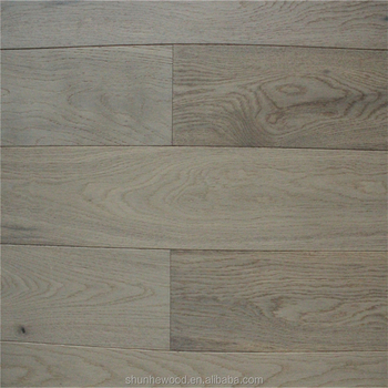Timber Flooring Wire Brushed White Wash