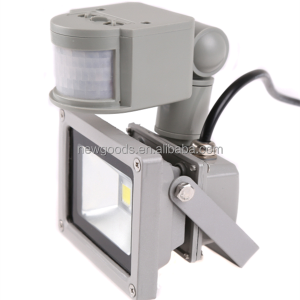 10W PIR Motion Sensor Security Wall LED Flood light IP65 LED Flood Lamp