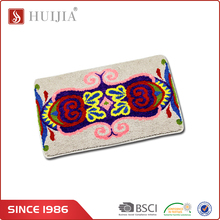 HUIJIA Hot Wholesale Chinese Flower Pattern Custom Size Wool Bath Rugs