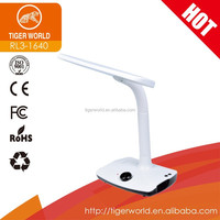 china factory oem odm led office rechargeable table desk lamps with FM function
