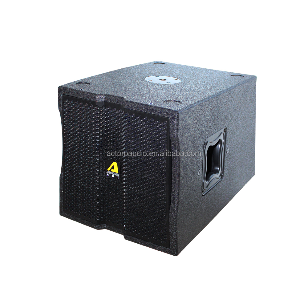 Actpro Audio 10 12 15 18 Inch High Power Active Subwoofer Modular Line Array system