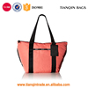 Waterproof New Arrival Common Fashion Multifunctional Environmental Travel Nylon Hotpink Tote Handbag
