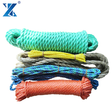 Wholesale Polypropylene 3-strand braided 4mm packing rope