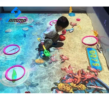 New Product 3d Display Magic Sand Interactive Floor