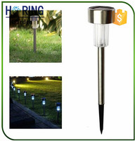 LED Solar Path Light Outdoor Garden Lawn Landscape Stainless Steel Lamp Energy Saving Solar Light
