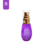 Vintage skin care production water spray thick wall purple PET bottles
