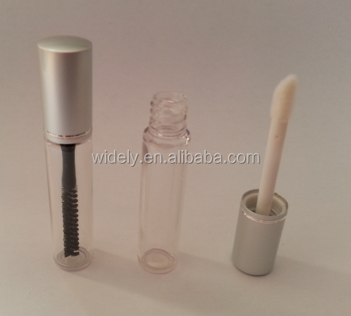 wholesale factory price empty mini transparent mascara tube lip gloss tube