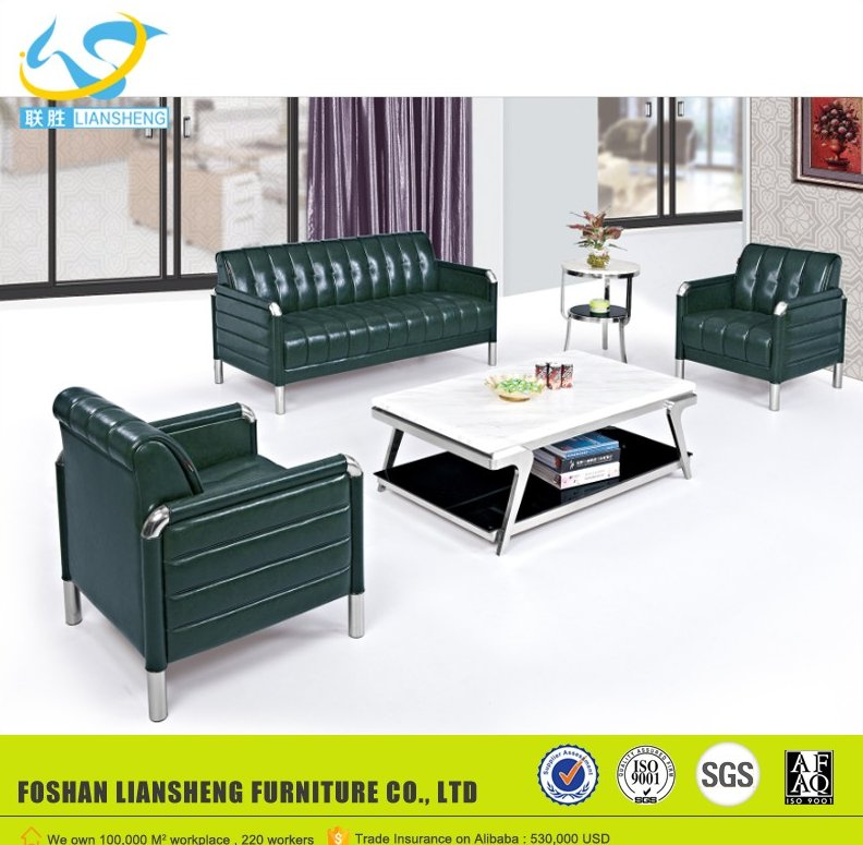 Factory Sale super quality executive office sofa 304 stainless sofa LS-338