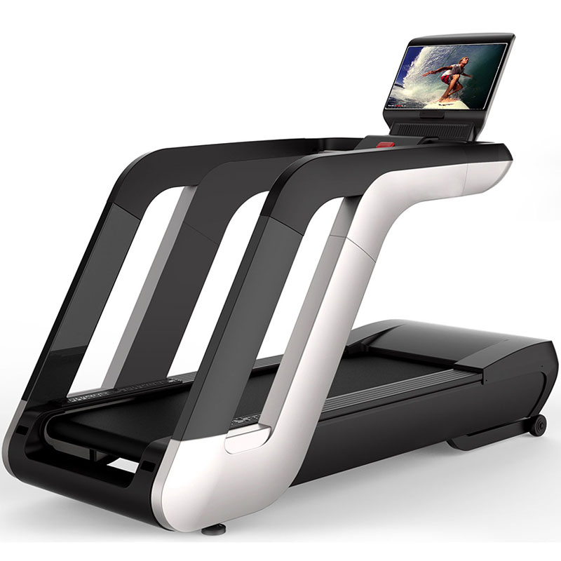 Commercial electric treadmill 21.5 capacitive touch screen with LED display screen