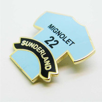 football jersey soccer jersey made in china lapel pin badge