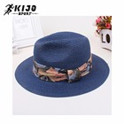 Summer Paper Straw Hat Women Ladies Fashion Small Order Stock Hat Wholesale Retail Panama Hat