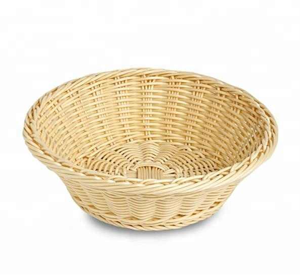 shandong packaging round plastic bread basket trays