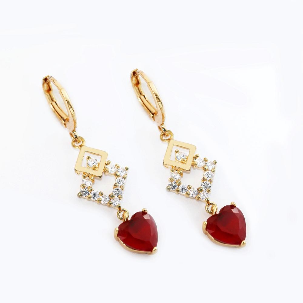 5cc01bd4aa0b3 China garnet drop earrings wholesale 🇨🇳 - Alibaba