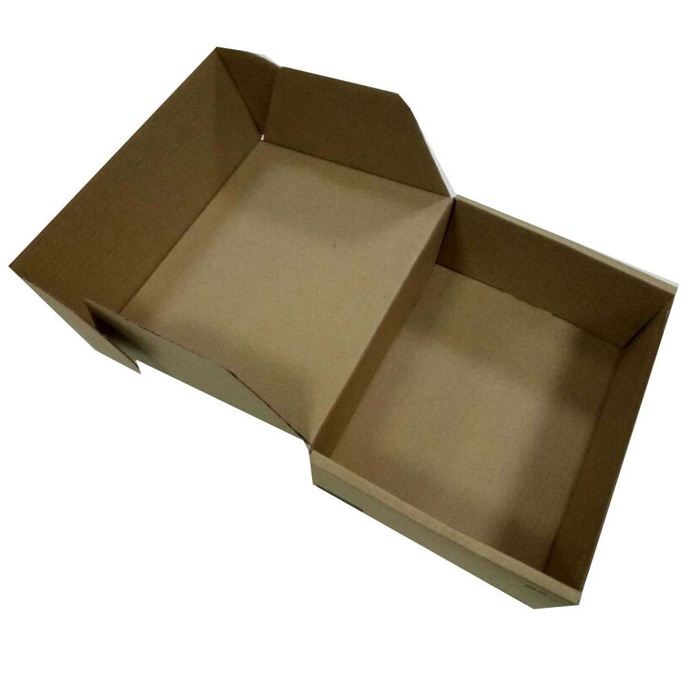 Hot sale print Logo customized hard cardboard shipping carton corrugated <strong>box</strong> by packaging factory