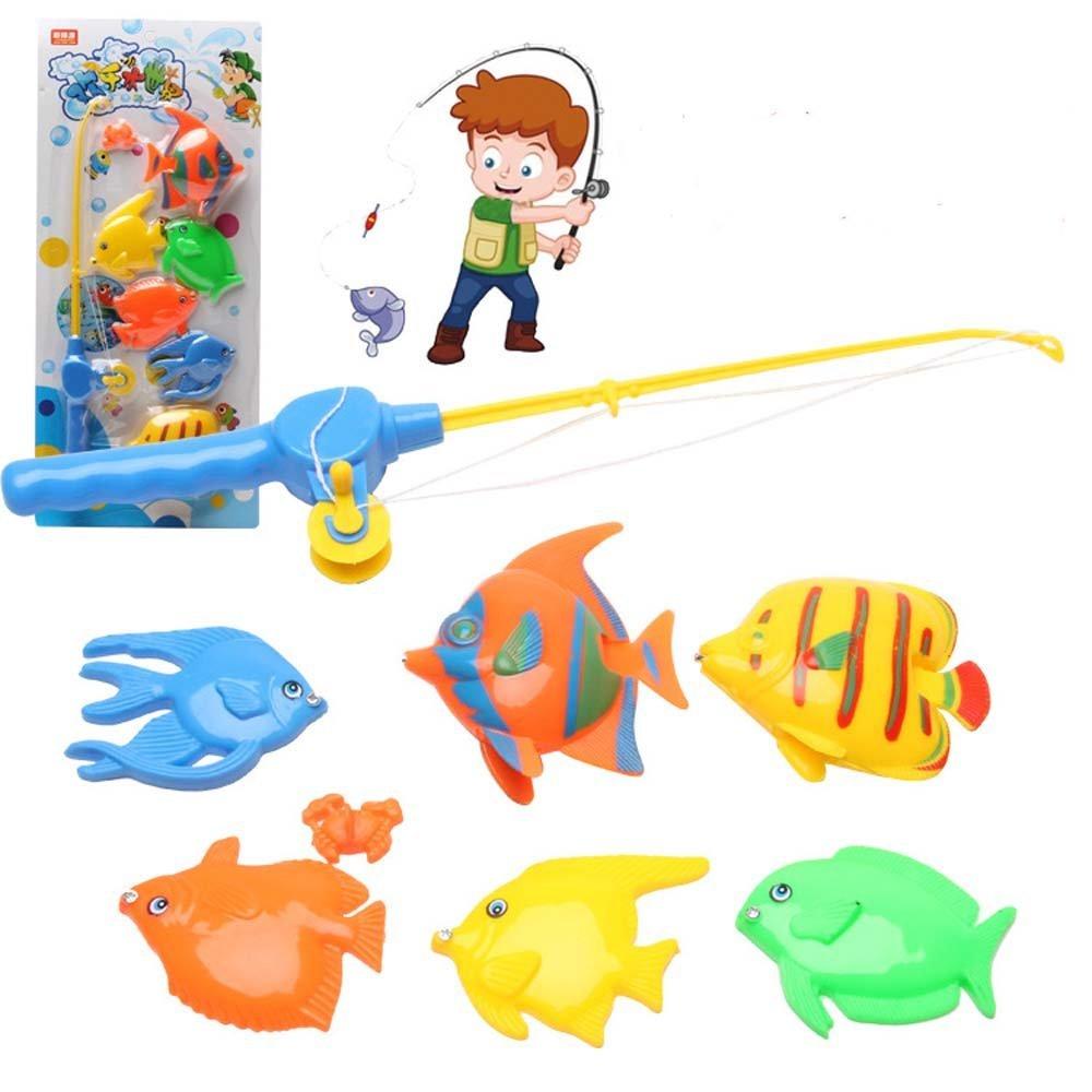 Рыбки с удочкой для детей