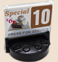 Digital Restaurant Wireless Service Paging System With Display Supports Up To 35 Tables One Time
