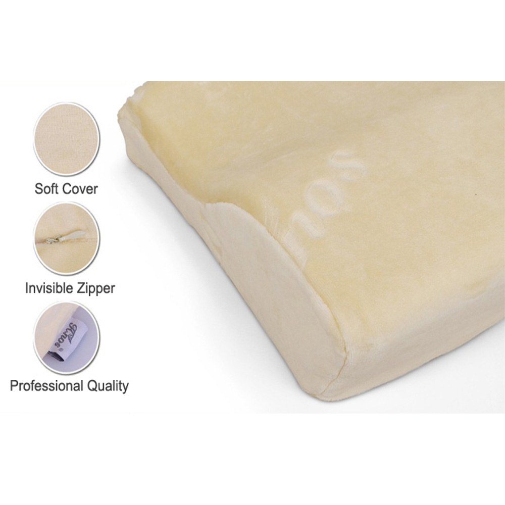 Health Care Lash Extension Sleeping Contour Memory Foam Head Support Pillow