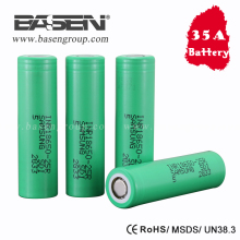 35A Samsung 18650 INR18650-25R 2500mah High Power battery Cell 3.6V Li ion Cell