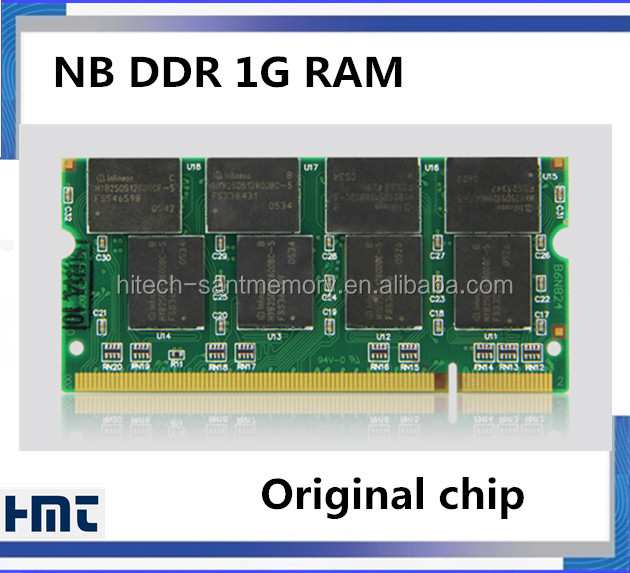 Cheapest 333MHZ PC2700 ddr1 1gb ram for laptop