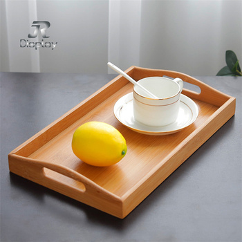 2019 Alibaba Best Supply Cork Wooden Breakfast Tray Wholesale