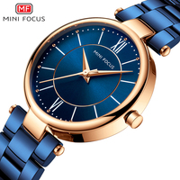 relojes de mujer Luxury Mini Focus 0189 Brand Women Fashion Bracelet Stainless Steel Waterproof Lady Minimalist Quartz Watch Hot
