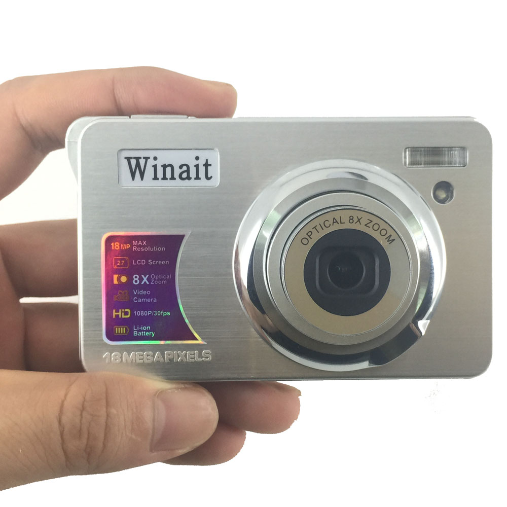 Winait 15 mega pixels digital video camera with 3x optical zoom video camera фото