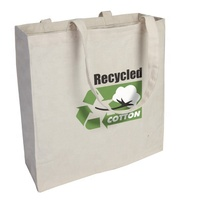Hot product wholesale custom reusable promotional blank cotton tote grocery bags cheap eco recycled cotton bag