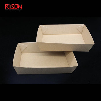 recycled paper food tray