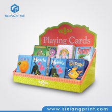 Small and cheap retail paying cards counter top display