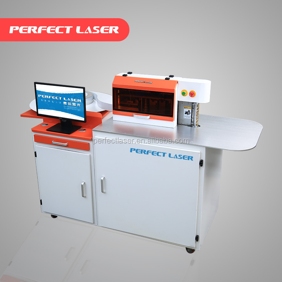 China Factory Led Neon Lighting Signs Channel Letter Trim cap Bending Machine