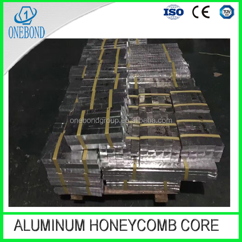 aluminum honeycomb core slices for sandwich panel, building material used