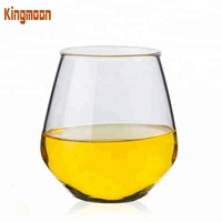 Mouth blown 480ml Cylinder Clear High Borosilicate Drinking Glass Cup for Water Juice Beer And Cocktail