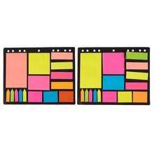 Pack van 600 Index Tabs, Bookmark Stickers en Memo Vlaggen-Kleurgecodeerde Memoblokjes Zelf Stick Note Pads <span class=keywords><strong>Post</strong></span> Notities voor Studenten