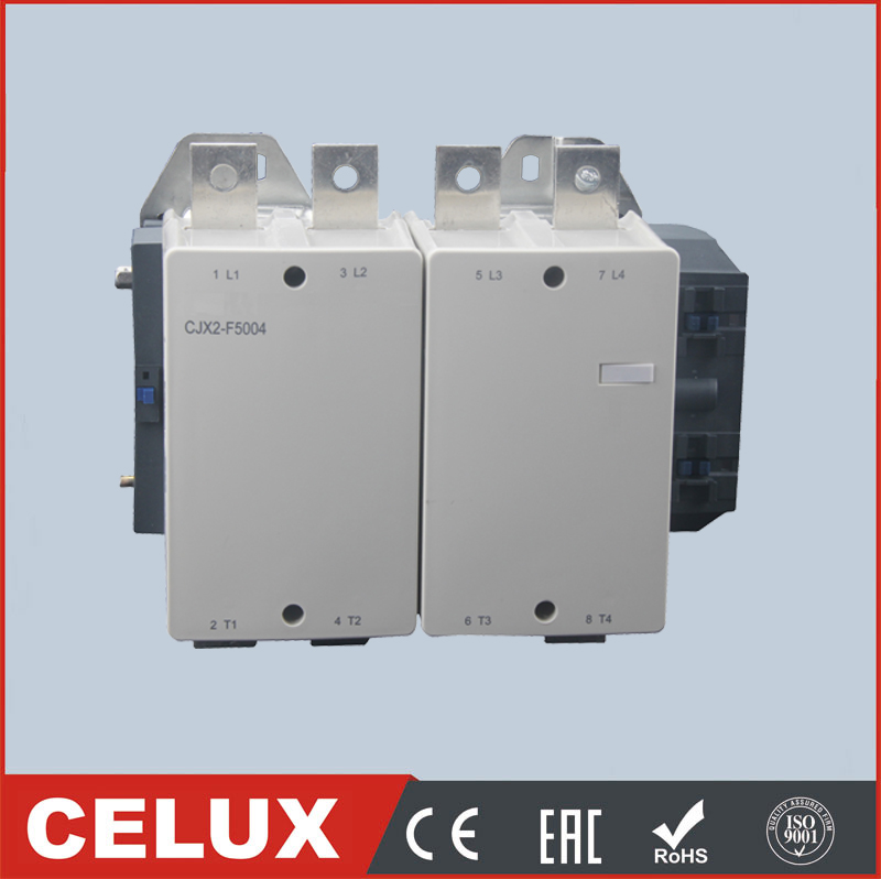 CJX1-F500 single phase electrical ac contactor 3P 4P