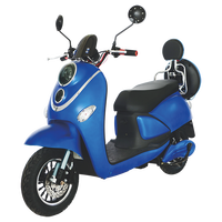 Factory direct 1000w electric scooter 60v 20ah electric motorbike/electric moped scooter/electric motorcycle for adult