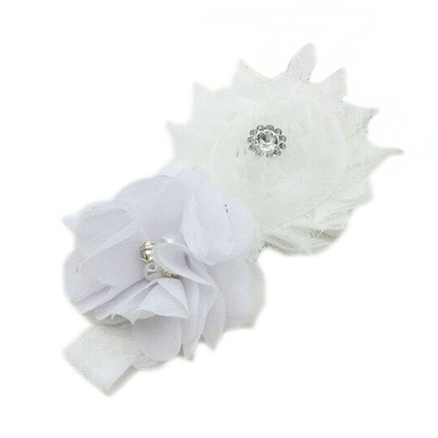 Buy Yonger Baby Pearl Flowers Hairband Cute Headbands Lace Infant