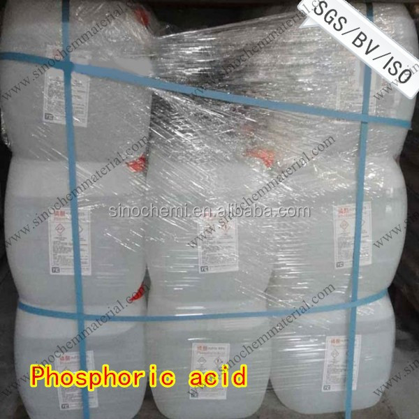 Superior quality best phosphoric acid 85 food grade prices