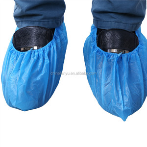 polyethylene plastic disposable waterproof custom shoe covers