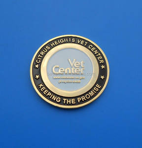 keeping the promise custom size silver coin packing for advertising promotion