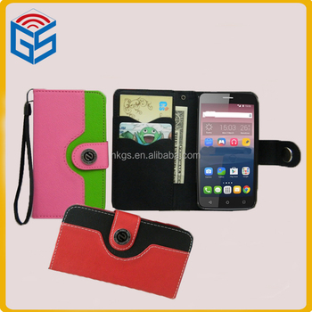 size 40 233ae 57952 Leather Bags For Ladies Mixed Color Wallet Flip Case Cover For Alcatel One  Touch Pixi 4 (6) 6.0 Ot-8050d Ot 8050 8050d - Buy Flip Case For Alcatel ...