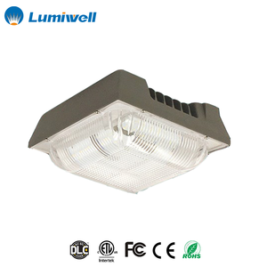 120W LED Canopy Light Round Industrial LED Light Modern Surface Mounting