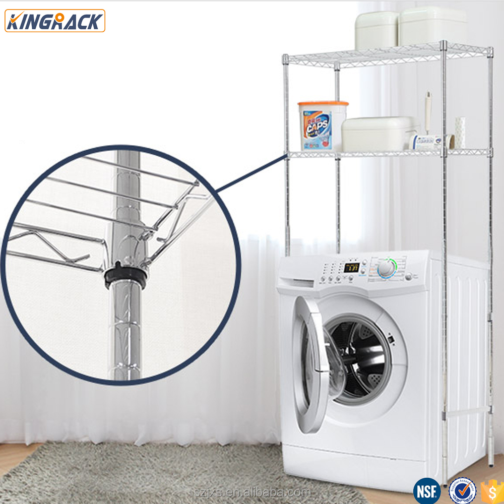 <strong>Holders</strong> &amp; Racks Type And Chrome Metal Type Wire shelving Rack/shelf For Wash Basin