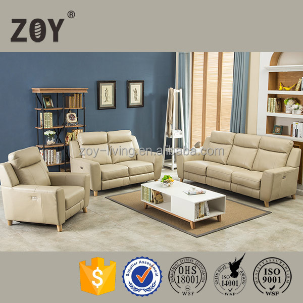 Exotic Air Leather New Designs Furniture Indian Seating Sofa Zoy 70270