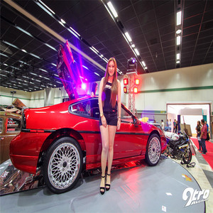 New rotating stage 360 degree revolving stage for car show stage steel frame plywood board