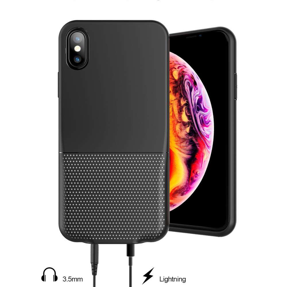 Function Case Audio Adapter Case with headphone jack case for IPhone XS Max фото