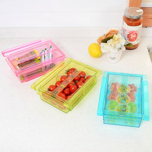 plastic storage fridge sliding drawer for sale