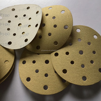 Round sand paper for painting and wood polishing
