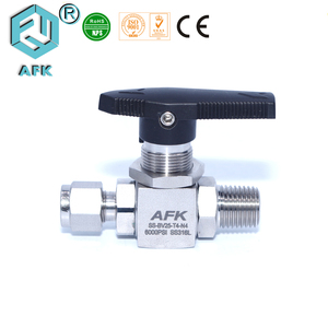 316 stainless steel 1000psig 1/2 inch helium gas ball valve